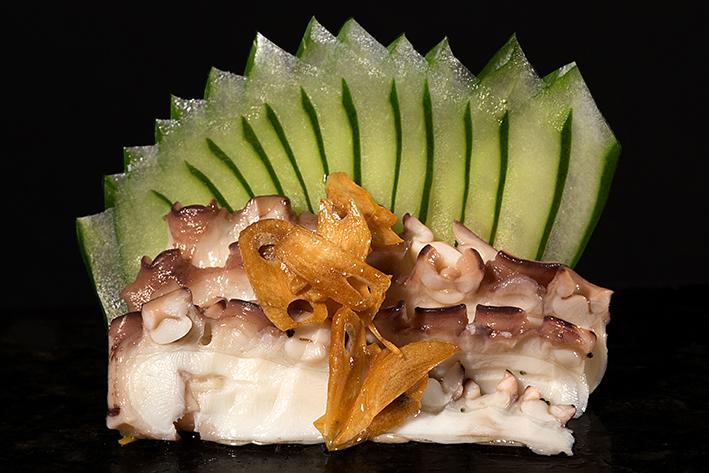 sashimi polvo gourmet